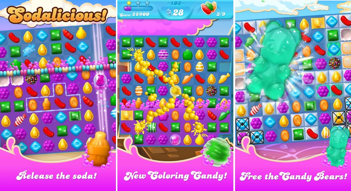Candy Crush Soda Saga For Android APK - Screenshots