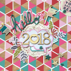 DIY 2018 Calendar Angela Tombari for Yuppla Carft DT