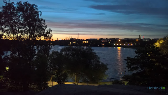 summer night in Helsinki