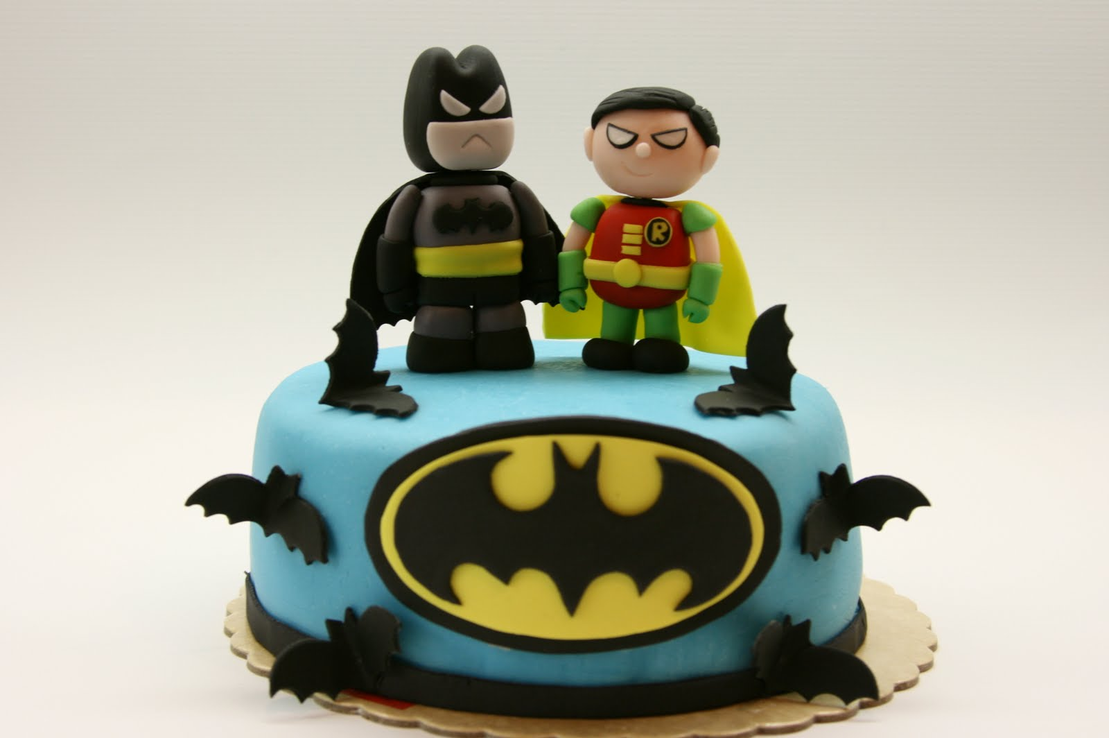Beautiful Kitchen Batman And Robin Cake