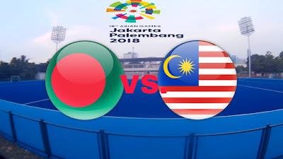Live Streaming Bangladesh vs Malaysia Hoki Sukan Asia 24.8.2018