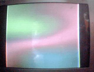 Layar Tv melebar menyempit setelah ganti FBT (Flyback)