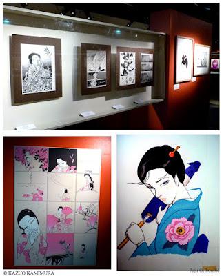Kazuo Kamimura l'exposition lors du FIBD 2017 - 02