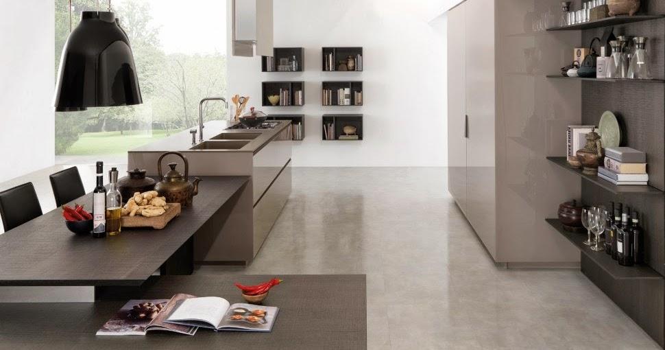 Estantes para equipar las paredes de la cocina cocinas - Lo ultimo en decoracion de paredes ...