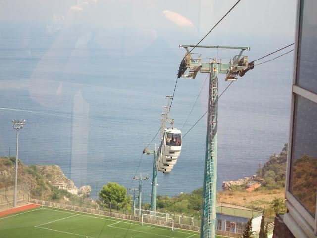 Linbanan i Taormina