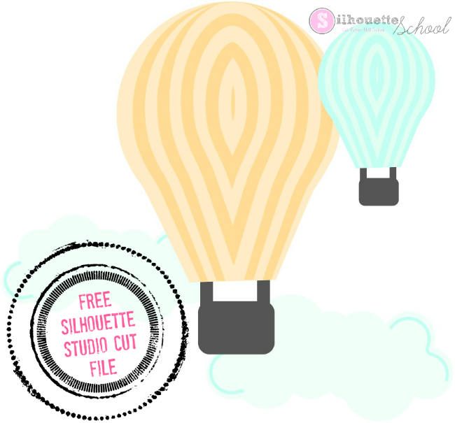 silhouette studio designs free silhouette cameo designs, free die cutting clipart hot air balloon clipart