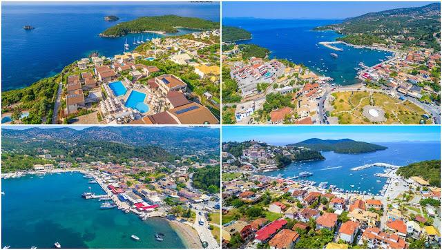 """Σύβοτα Θεσπρωτίας: Δείτε από ψηλά την """"Η Καραϊβική της Ελλάδας"""""""