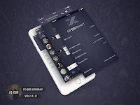 BBM Mod Mi Dark v2.13.1.13 apk Clone terbaru