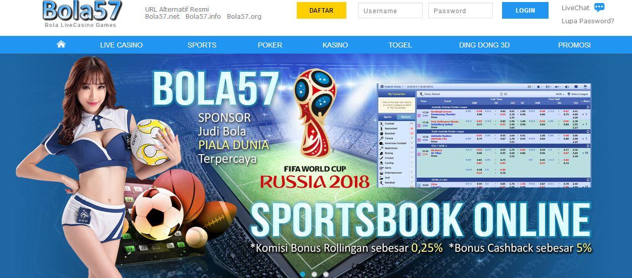 Bola57 Agen Judi Bola Sponsor Piala Dunia 2018 Russia ~ Informasi Agen Judi Online Terpercaya ...