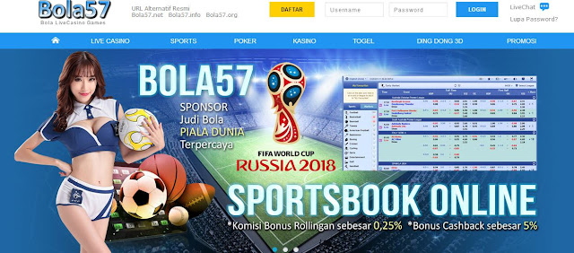 Bola57 Agen Judi Bola Sponsor Piala Dunia 2018 Russia