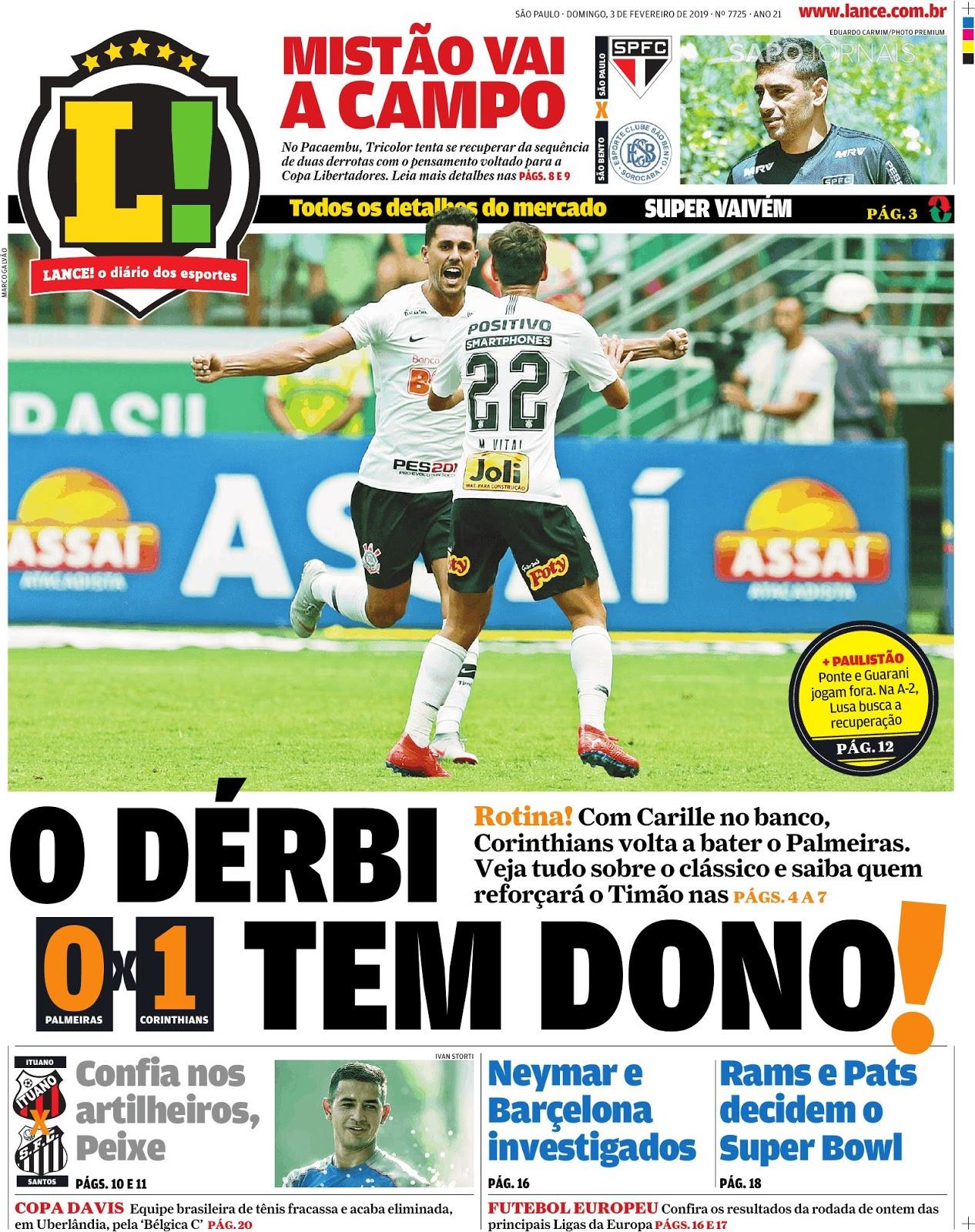 PAULISTÃO 2019 - Com gol de Danilo Avelar 8f37c78e518c0