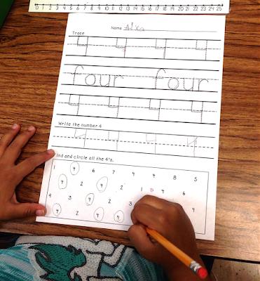 Teaching Numbers 3