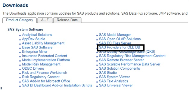 Microsoft Business Intelligence: Loading SAS Dataset in a
