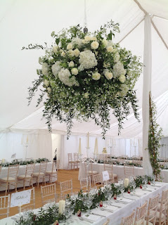 beautiful wedding flower ball