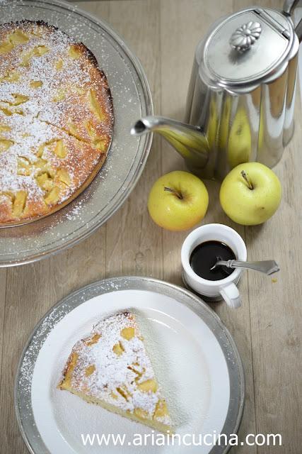 Blog di cucina di aria la torta di mele della nonna diva - La cucina di aria ...