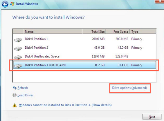 Cara Mengatasi Windows Cannot Be Installed To This Disk. The Selected Disk Is of GPT Partition Style.