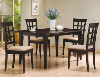 5 person table with chairs