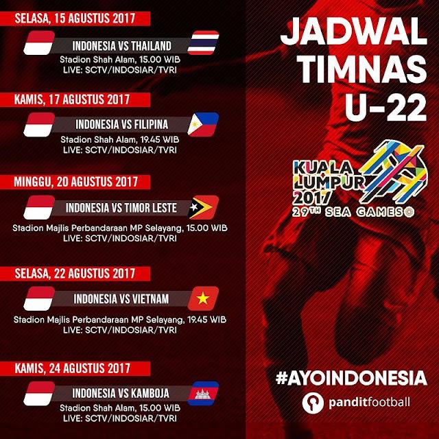 Jadwal Pertandingan Timnas Indonesia