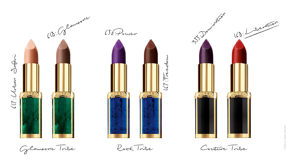 beleza; beauty; makeup; maquilhagem; Balmain; loreal; perfumes e companhia; el corte ingles; batons; color riche; olivier rousteing
