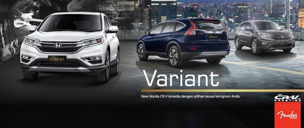 Spesifikasi Harga Honda CR-V Bandung