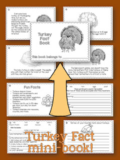 Science and Social Studies printables for November
