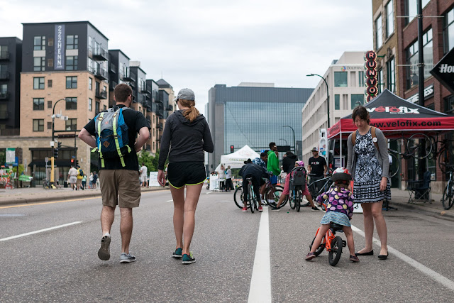 Open Streets Downtown Minneapolis