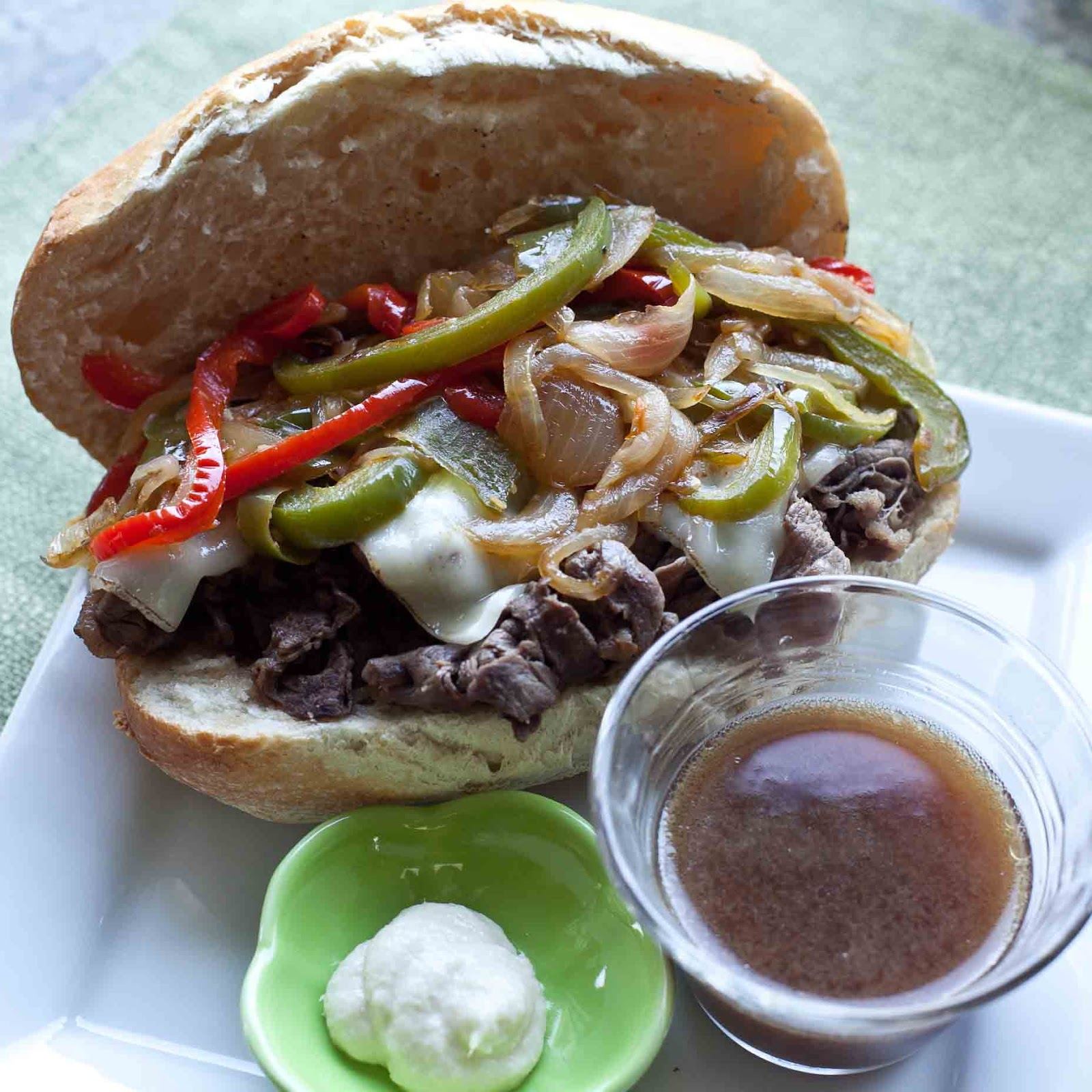 Foodjimoto Beef Dip Sandwiches