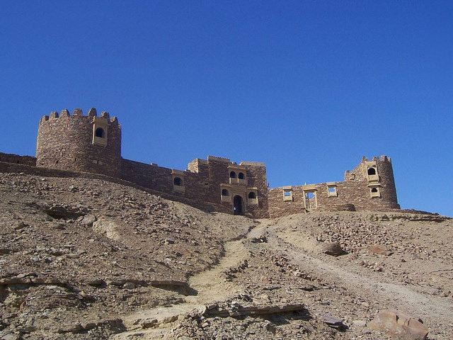 The Khaba Fort in Jaisalmer, Rajasthan