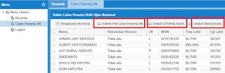 Pilih Kotak Download File DZ dan Berita Acara