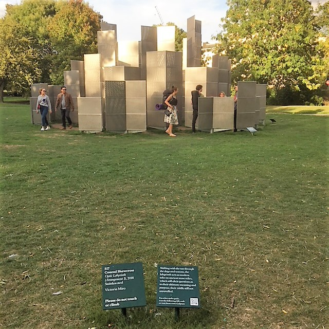 Frieze Sculpture 2018 in Regent's Park, London