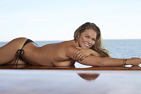 Ronda Rousey in the pages of Sports Illustrated