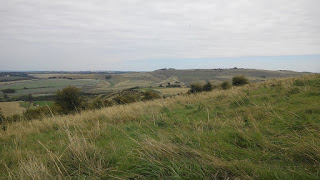 View of Wiltshire countryside
