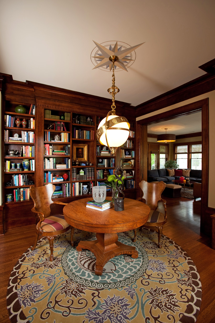 Elegant Study Room: Landfair On Furniture: Home Libraries That Ignite The