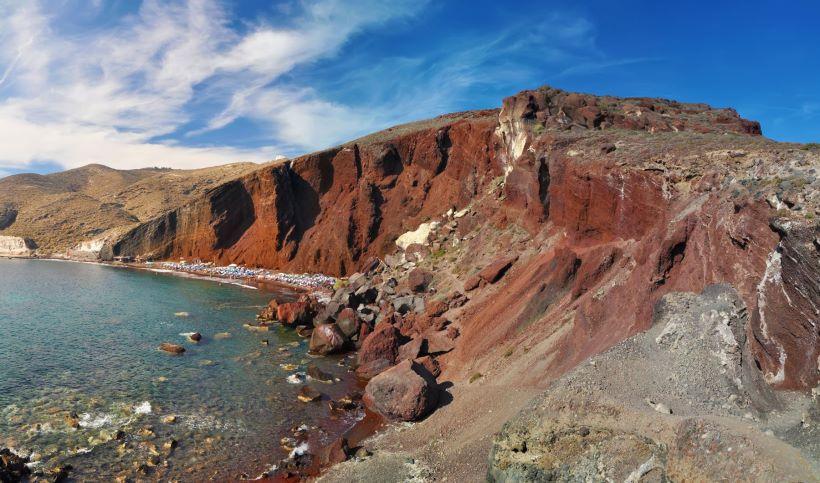 Santorini Red Beach - Ioanna's Notebook