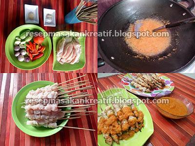 Cara membuat sate taichan