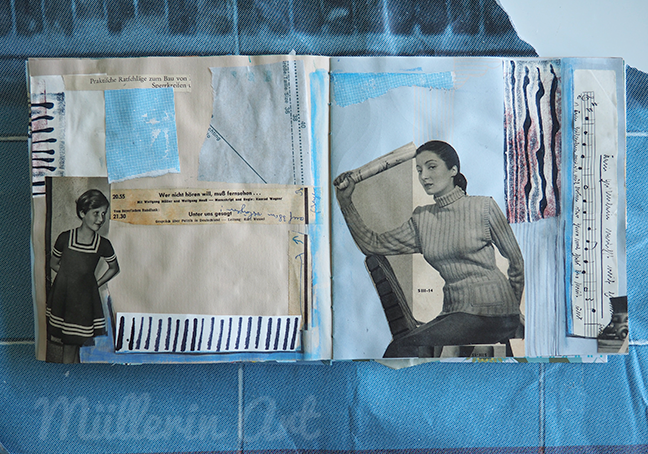 Collage Sketchbook ©Müllerin Art