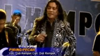Lirik Lagu Piring Pecah - Didi Kempot