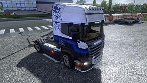 Scania Blue V8 skin