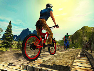 Download Uphill offroad bicycle rider Apk Full Track Terbaru For Android