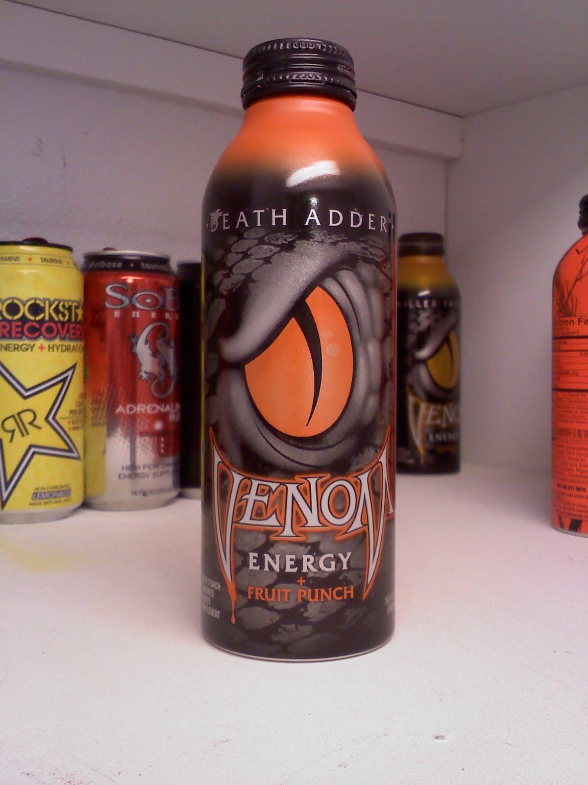 Caffeine Review For Venom Energy Death Adder