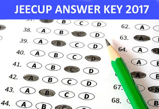 UP JEECUP Answer Key 2017, UP Polytechnic Exam Key 23 April 2017