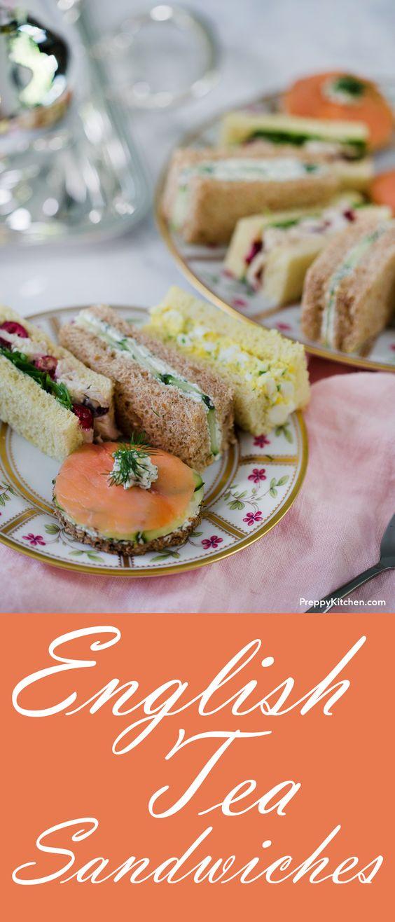 Englísh Tea Sandwíches