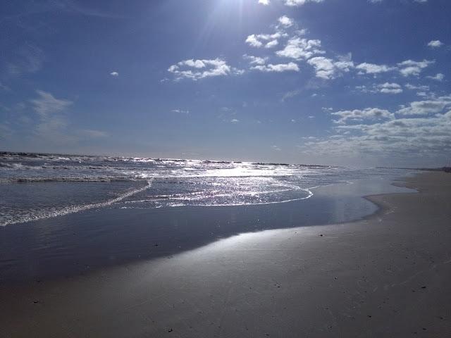 foto della Spiaggia di Roseto degli Abruzzi a metà settembre 2018