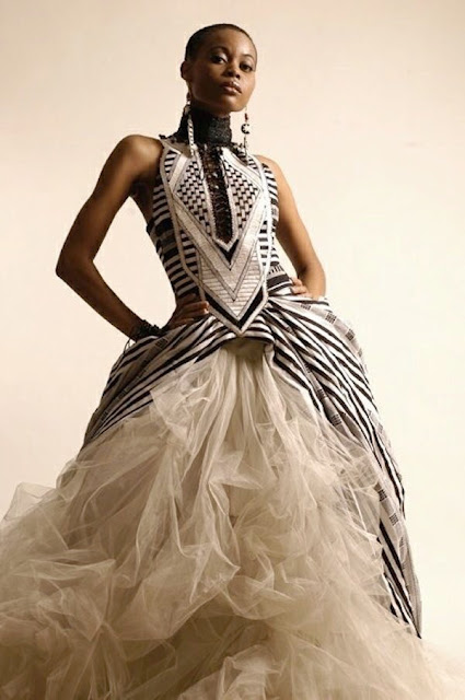 K'Mich Weddings - wedding dress - cultural - Avant Grade