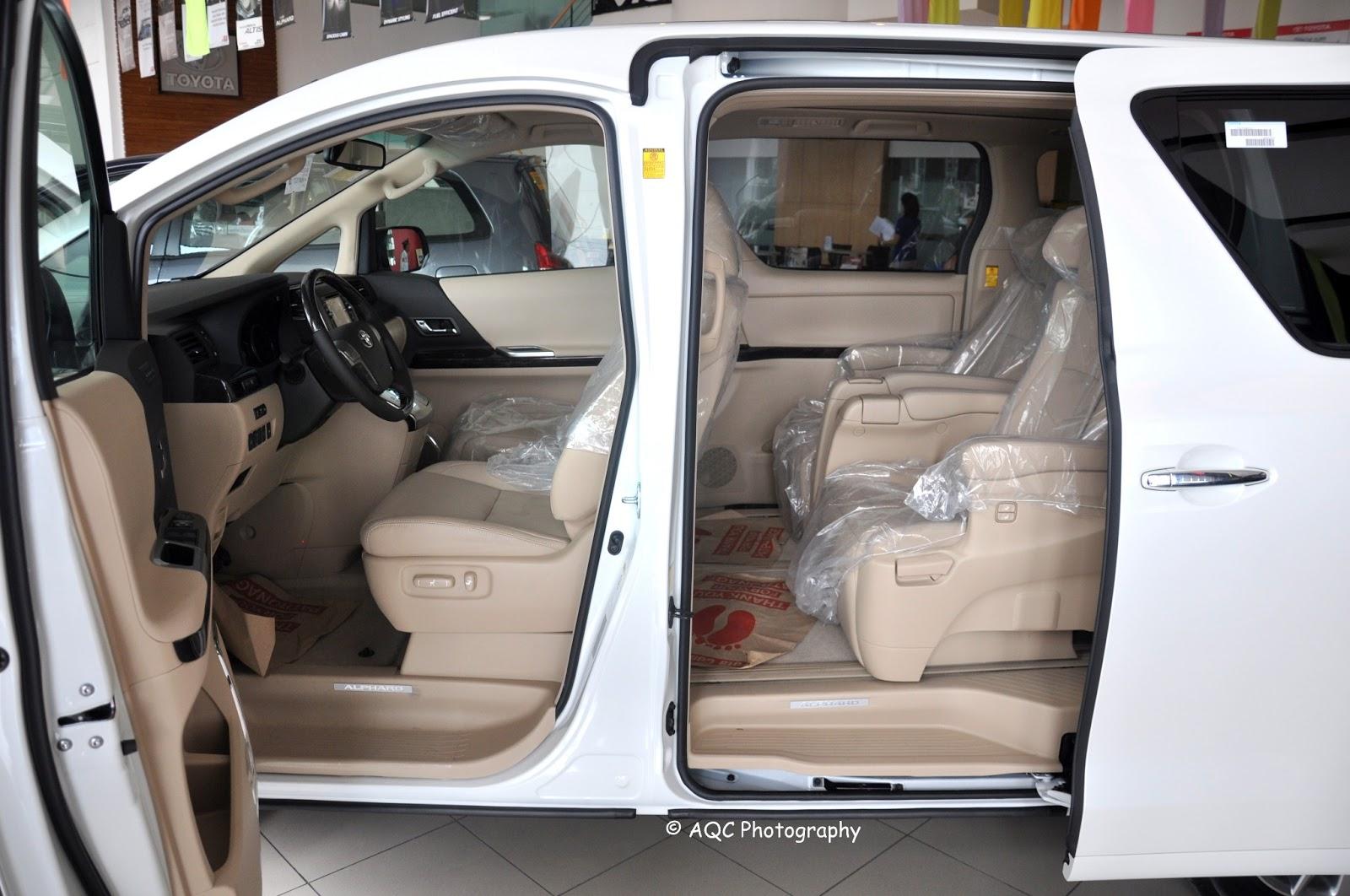All New Alphard Interior Grand Avanza E Vs G Toyota Specs Features