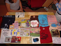 The Merch Table image from Bobby Owsinski's Music 3.0 blog