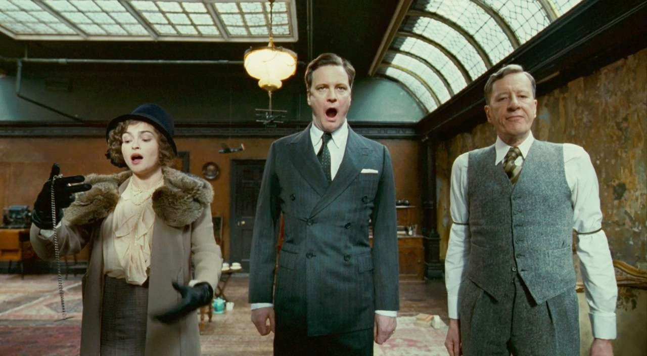 the kings speech helena bonham carter colin firth geoffrey rush