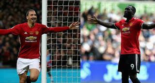 Manchester United Krisis Striker, Lukaku dan Ibrahimovic Cedera