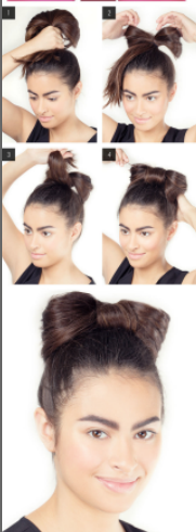 Step By Step Easy Hairstyles Instruction For Long Medium ...