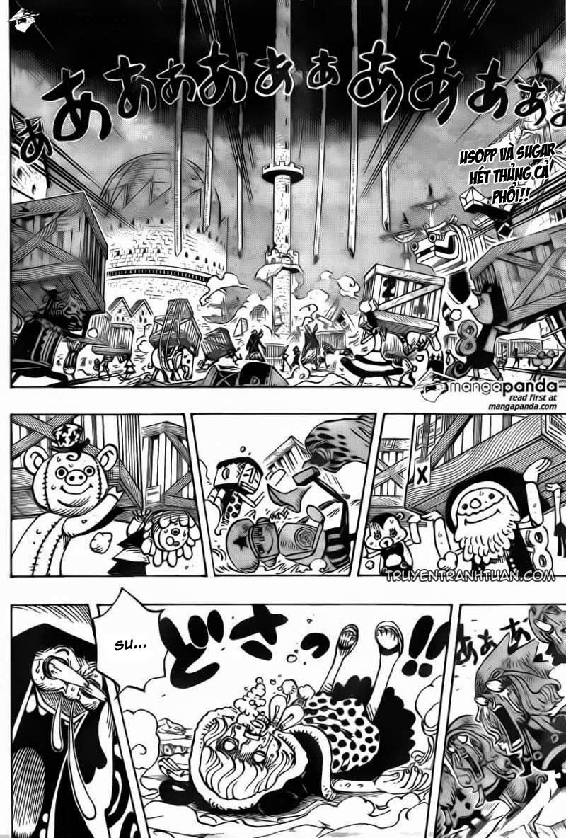 One Piece Chap 743